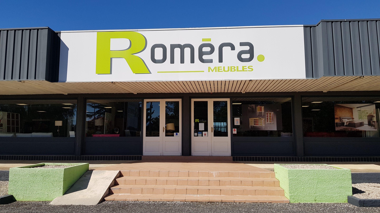 Meubles Roméra, magasin d'ameublement